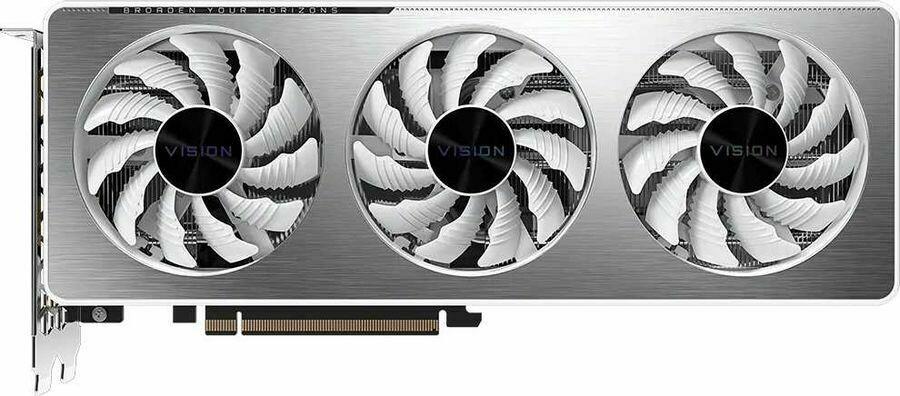 GIGABYTE NVIDIA GeForce RTX 3060 , GV-N3060VISION OC-12GD, 12ГБ, GDDR6, OC, Retail