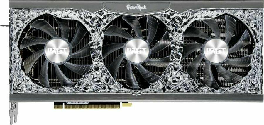PALIT NVIDIA GeForce RTX 3080 , PA-RTX3080 GAMEROCK 10G, 10ГБ, GDDR6X, Retail