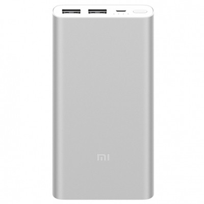 Xiaomi Mi Power Bank 2S 10000mAh Silver (PLM09ZM)