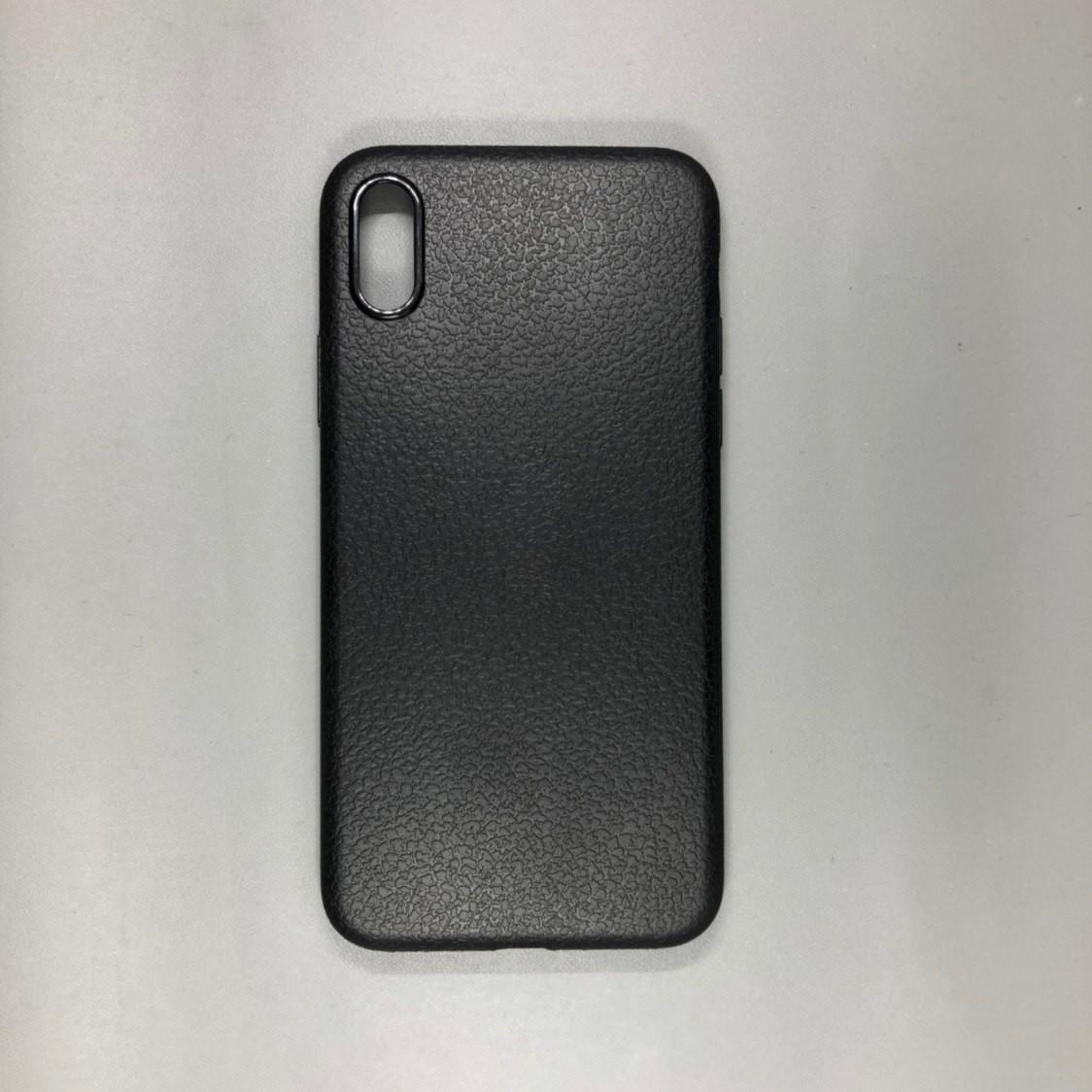 iPhone X Plastic Black