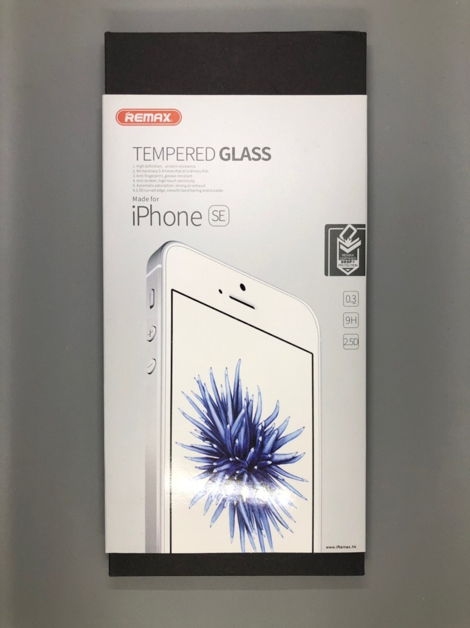 iPhone 5 | 5S | SE Tempered Glass 2.5D Remax (Прозрачное)