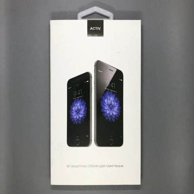 iPhone XR 3D Glass Черное