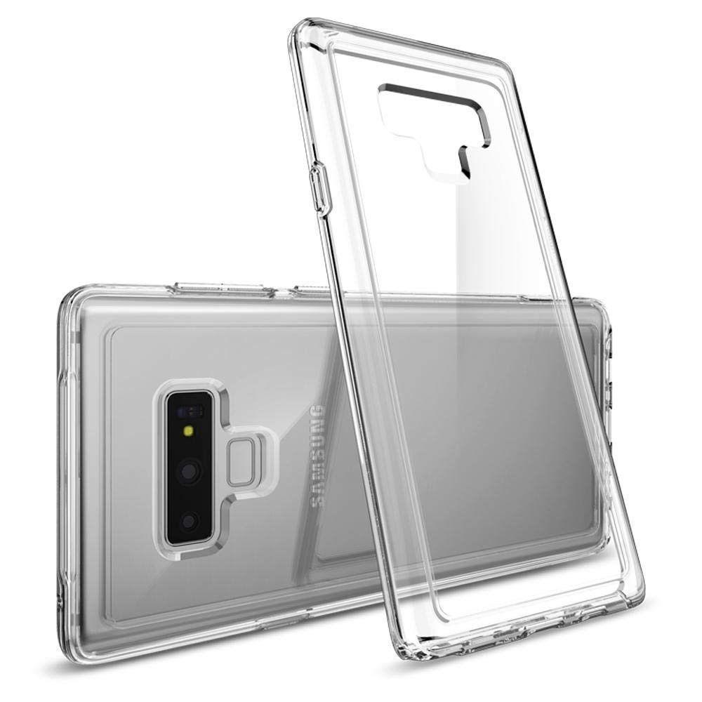 Samsung Note 9 Силикон (Прозрачный)