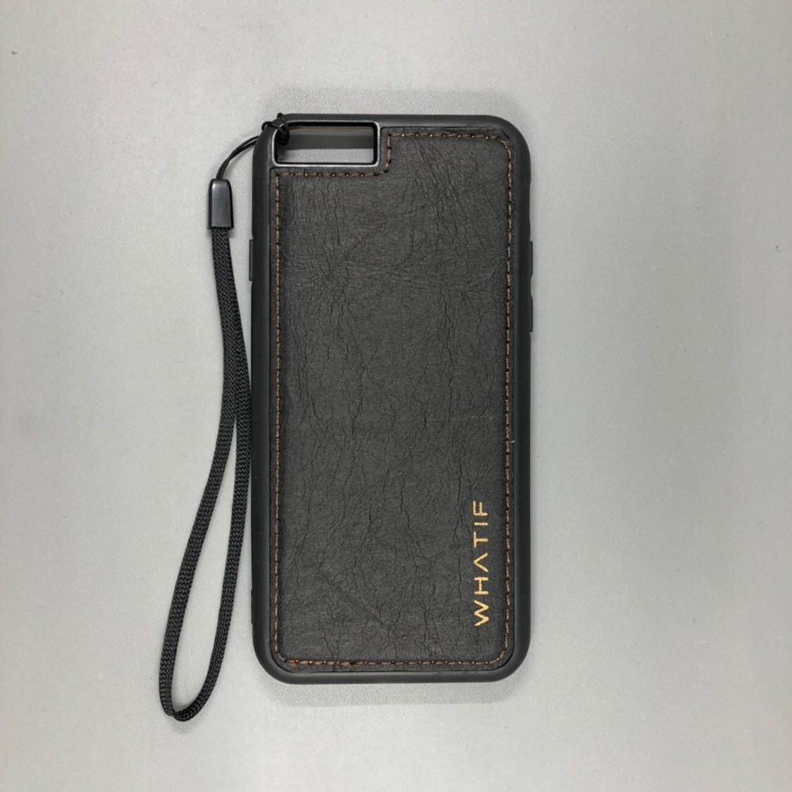 iPhone 6 Plus | 6 S Plus WHATIF кожанный (Черный)