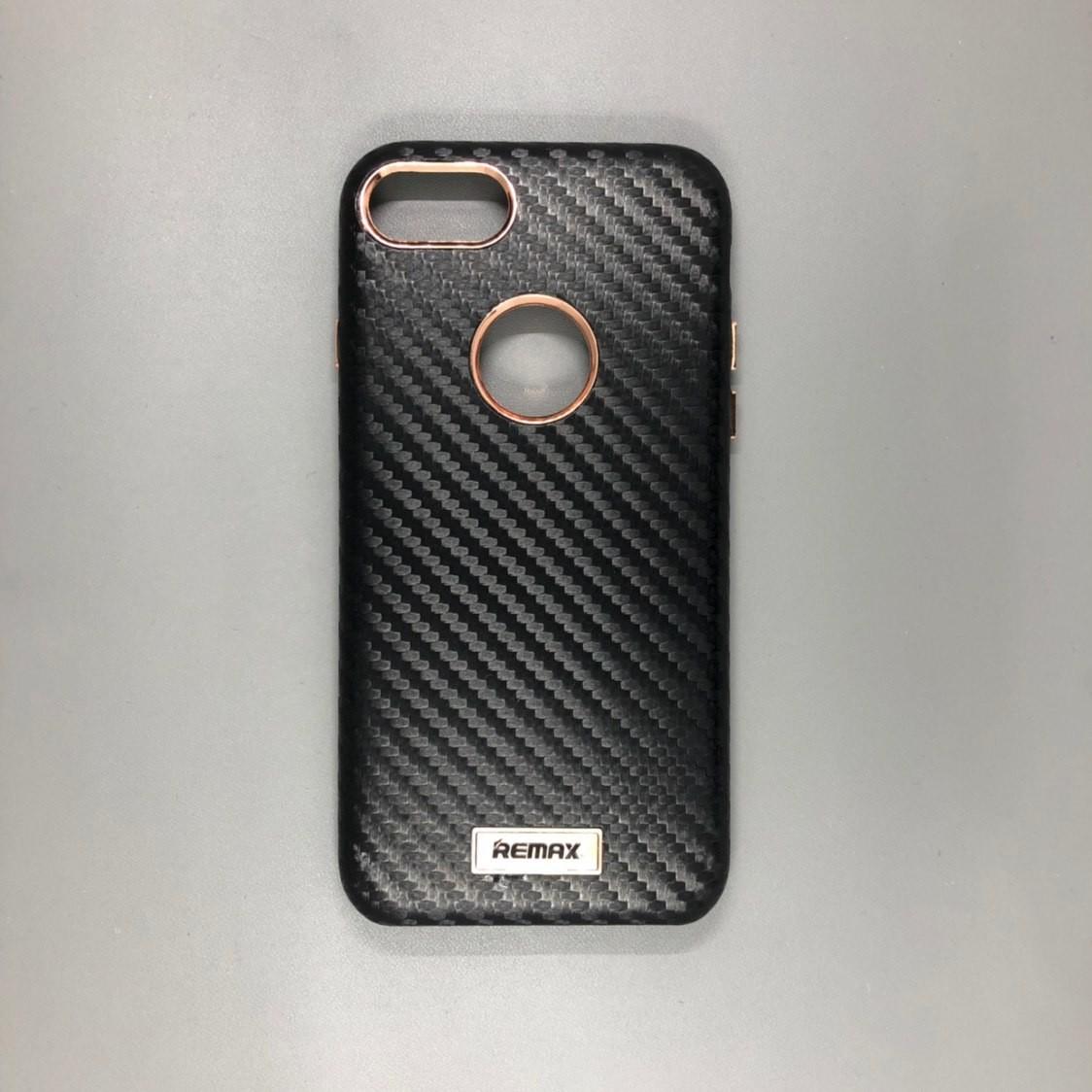 iPhone 7 Plastic Remax Carbon