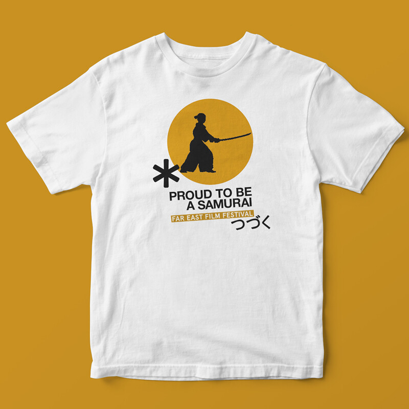 Golden samurai t-shirt