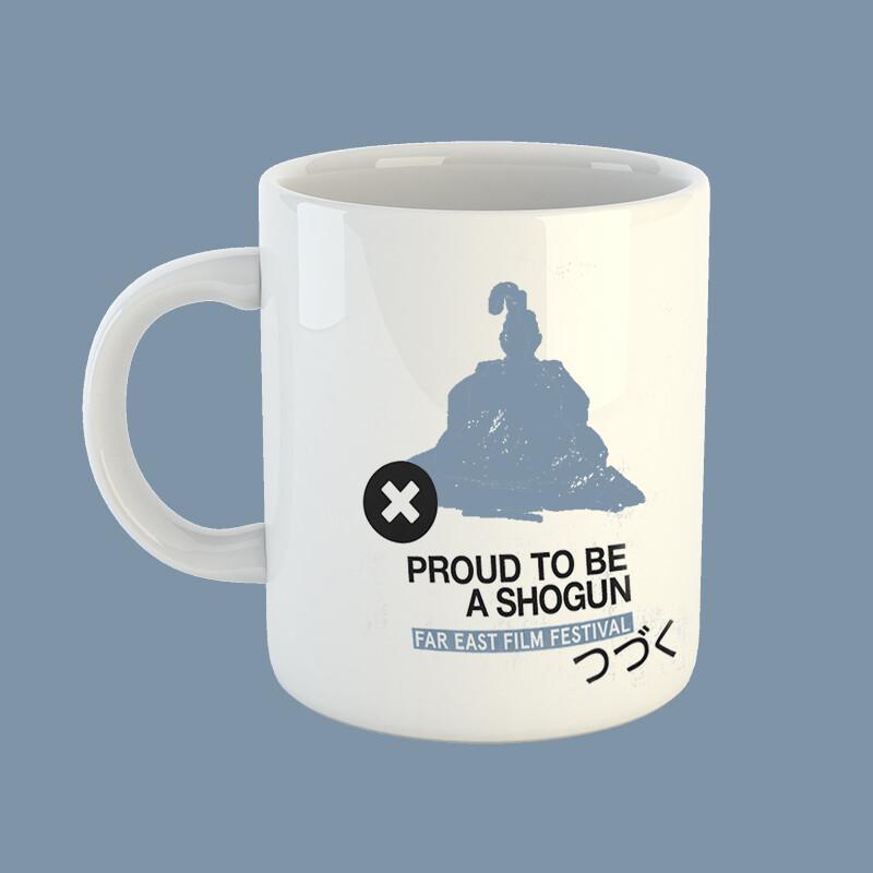 Platinum shogun mug