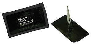 Patch-N-Plug Reinforced Radial Repair - Single Box