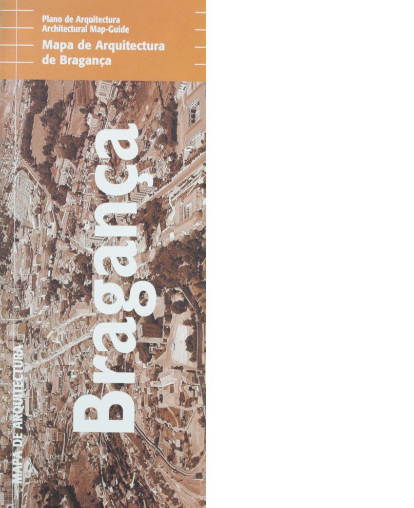Mapa de Arquitectura de Bragança