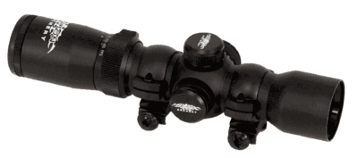 1.5–5 x 32 Adjustable Power Illuminated Scope