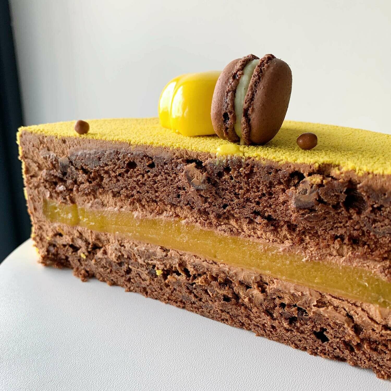 "Торт ""Шоколад-маракуя"""