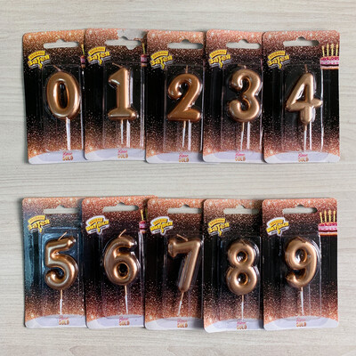 Свічка святкова цифрою