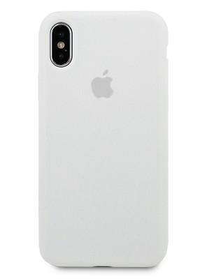 Чехол для iPhone X Apple Silicone Case 360 (Белый)