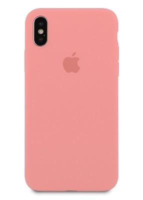 Чехол для iPhone X Apple Silicone Case 360 ультратонкий (Розовый)