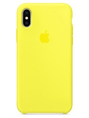 Чехол для iPhone X Apple Silicone Case Lux (Flash)