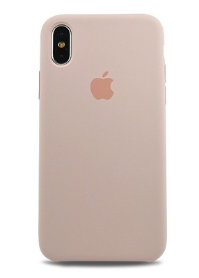 Чехол для iPhone X Apple Silicone Case Lux (Pink Sand)