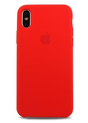 Чехол для iPhone X Apple Silicone Case Lux (Red)