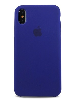 Чехол для iPhone X Apple Silicone Case Lux (Ultra Violet)