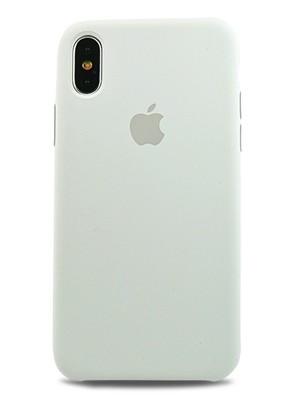 Чехол для iPhone X Apple Silicone Case Lux (White)