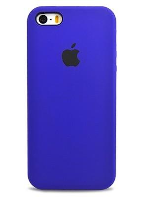 Чехол для iPhone 5/5S Apple Silicone Case Premium (Фиолетовый)