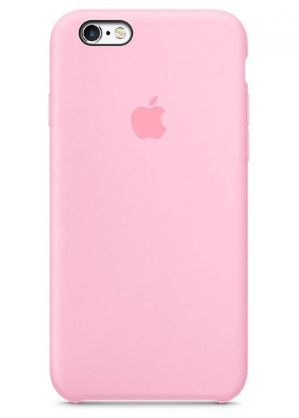 Чехол для iPhone 6/6S Apple Silicone Case Lux (Candy)