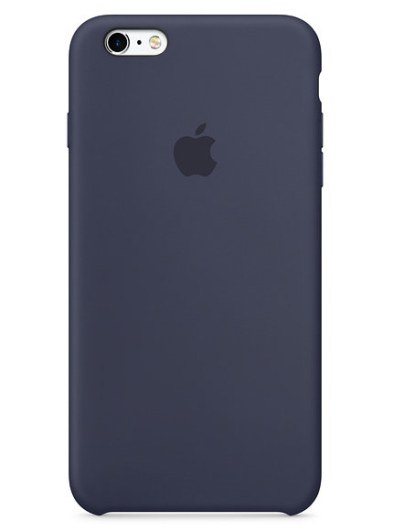 Чехол для iPhone 6/6S Apple Silicone Case Lux (Midnight Blue)