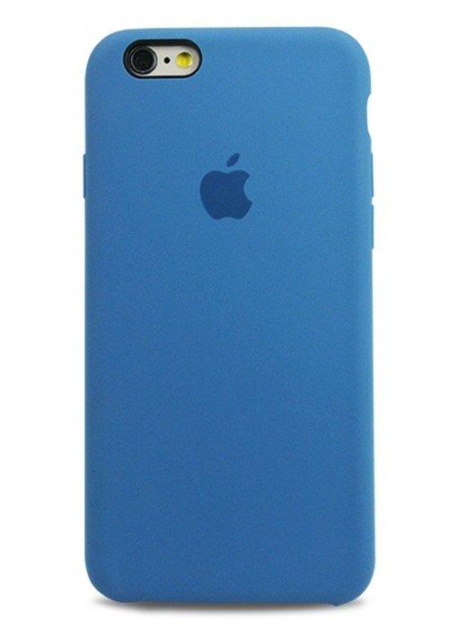 Чехол для iPhone 6/6S Apple Silicone Case Lux (Tahoe Blue)