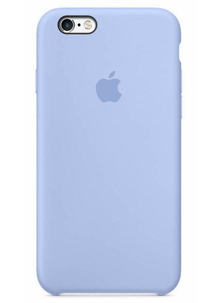 Чехол для iPhone 6/6S Apple Silicone Case Premium (Светло-голубой)