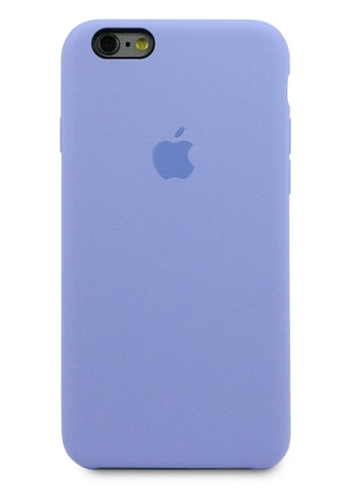 Чехол для iPhone 6/6S Apple Silicone Case Premium (Сиреневый)