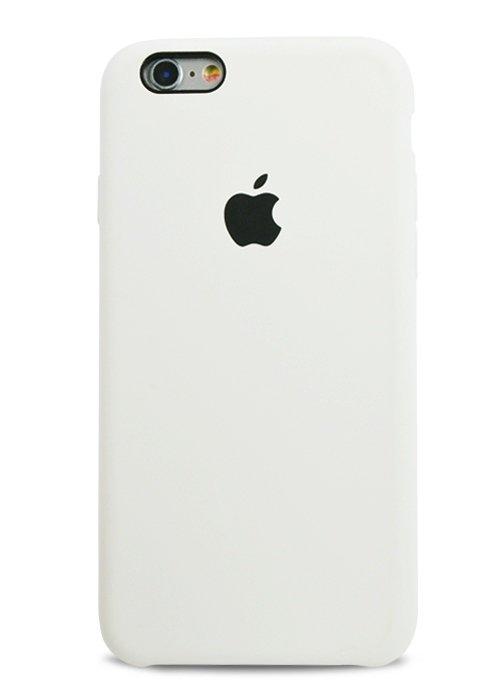 Чехол для iPhone 6/6S Apple Silicone Case Simple (Белый)