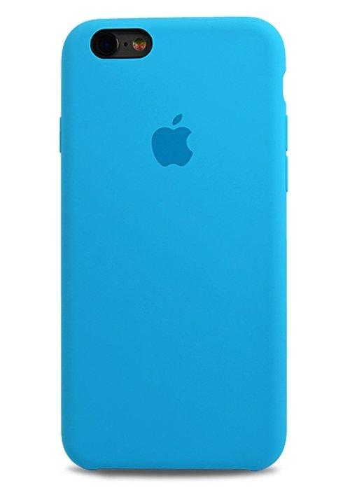Чехол для iPhone 6/6S Apple Silicone Case Simple (Голубой)