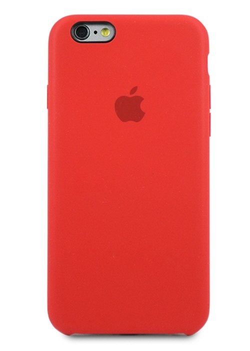 Чехол для iPhone 6/6S Apple Silicone Case Simple (Кирпичный)