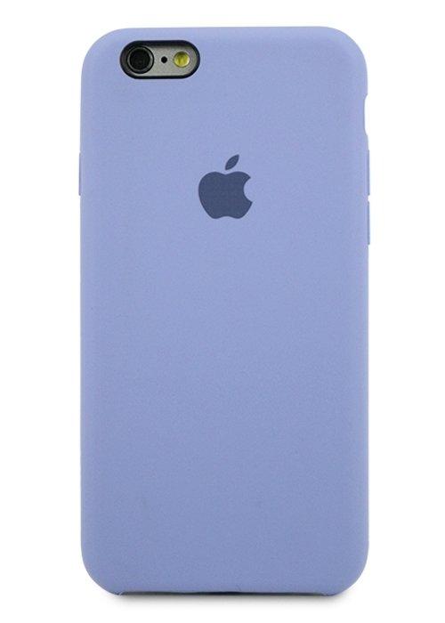 Чехол для iPhone 6/6S Apple Silicone Case Simple (Лавандовый)