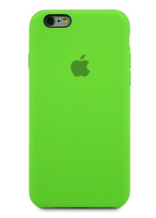 Чехол для iPhone 6/6S Apple Silicone Case Simple (Лайм)