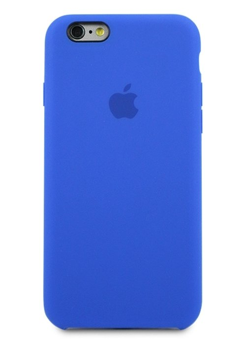 Чехол для iPhone 6/6S Apple Silicone Case Simple (Ультрамарин)