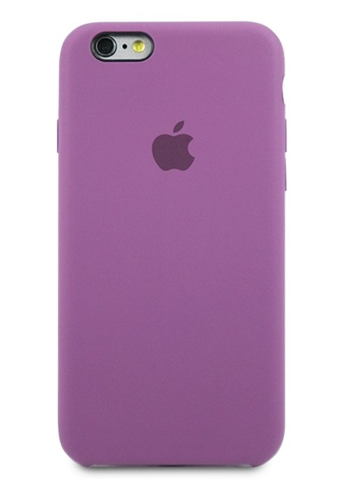 Чехол для iPhone 6/6S Apple Silicone Case Simple (Фиолетовый)