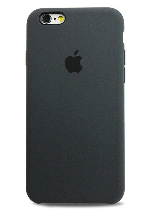 Чехол для iPhone 6/6S Apple Silicone Case Simple (Черный)
