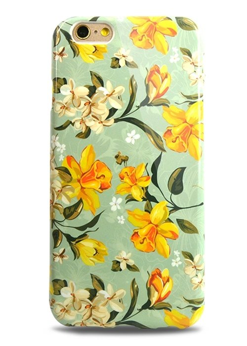 Чехол для iPhone 6/6S Aru Flowers (Нарциссы)