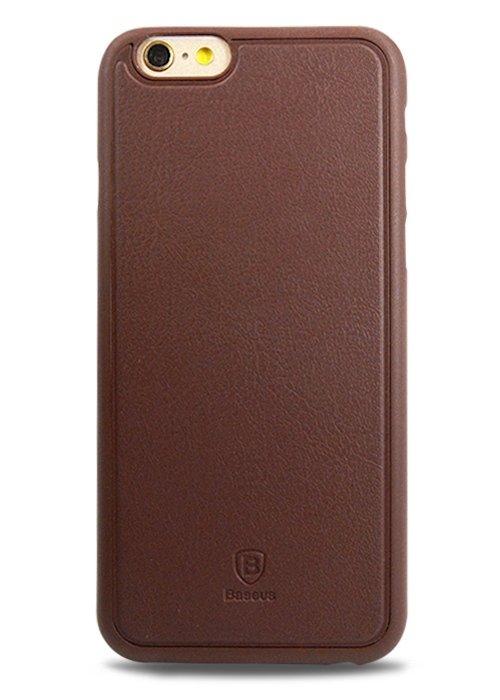 Чехол для iPhone 6/6S Baseus Comfy case (Коричневый)