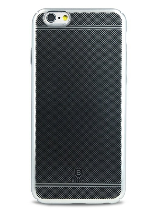 Чехол для iPhone 6/6S Baseus Shell Metal (Серебро)