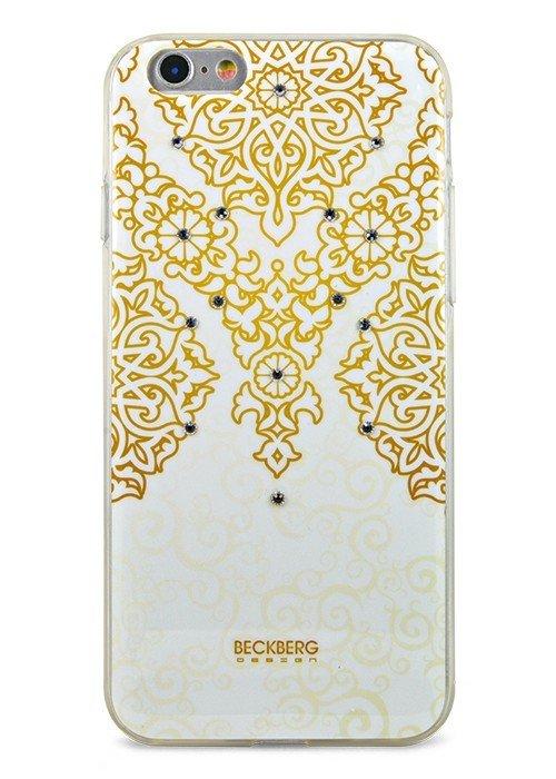 Чехол для iPhone 6/6S Beckberg Exotic (Золотой узор)