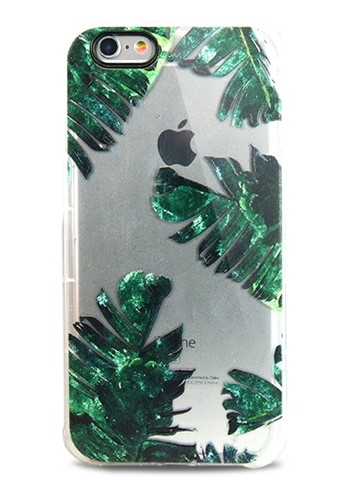 Чехол для iPhone 6/6S Bonny силикон (Пальмовые листья)