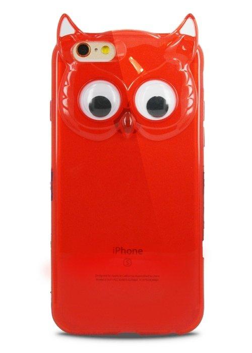 Чехол для iPhone 6/6S Creative Owl (Красный)