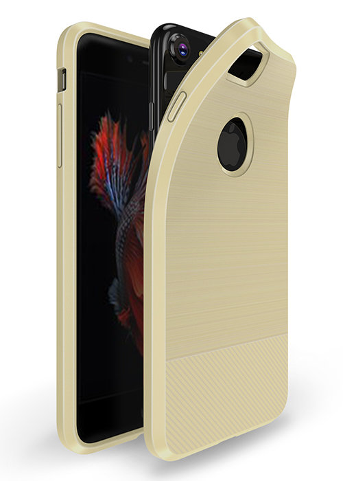 Чехол для iPhone 6/6S Dux Ducis с магнитом (Бежевый)