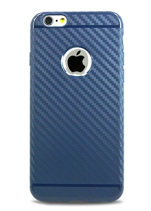 Чехол для iPhone 6/6S Hoco Shadow Carbon (Blue)