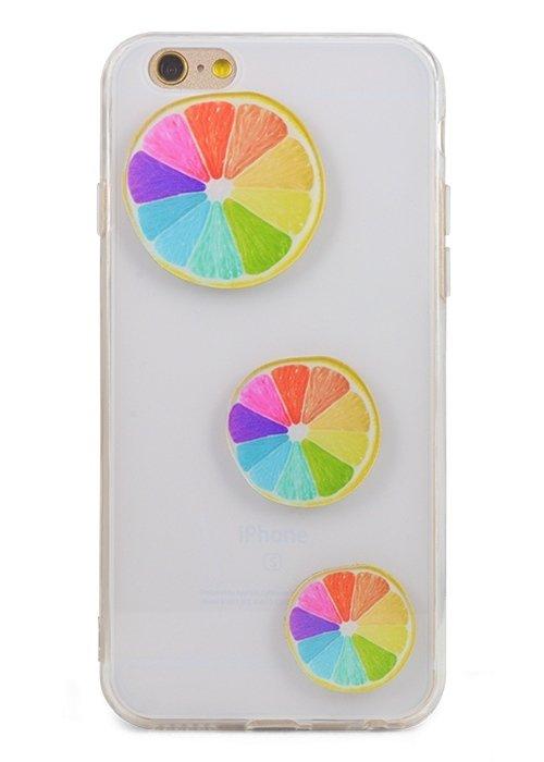 Чехол для iPhone 6/6S kids (Цветной цитрус)