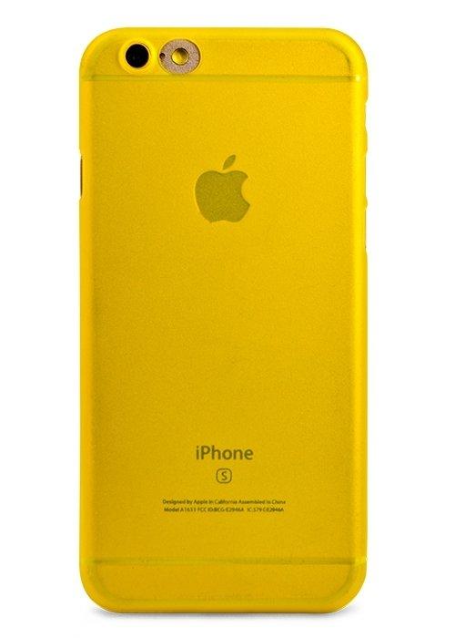 Чехол для iPhone 6/6S Light (Желтый)