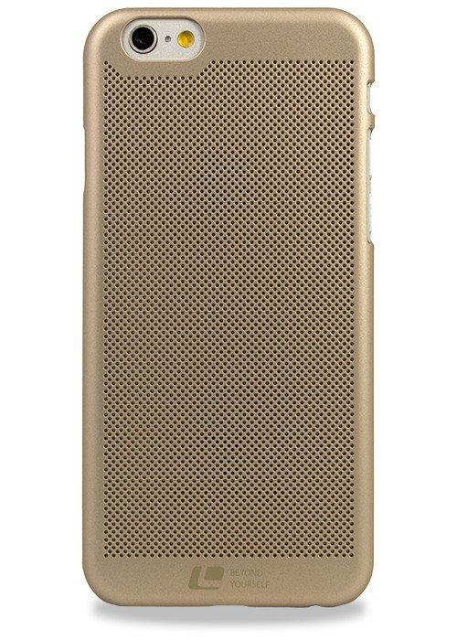 Чехол для iPhone 6/6S Loopee накладка (Золото)