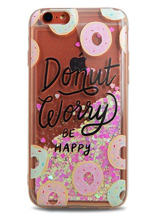 Чехол для iPhone 6/6S Lovely stream силикон Lux (Donut)