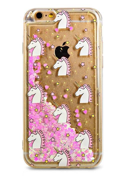 Чехол для iPhone 6/6S Lovely stream силикон Lux (Unicorn in stars)